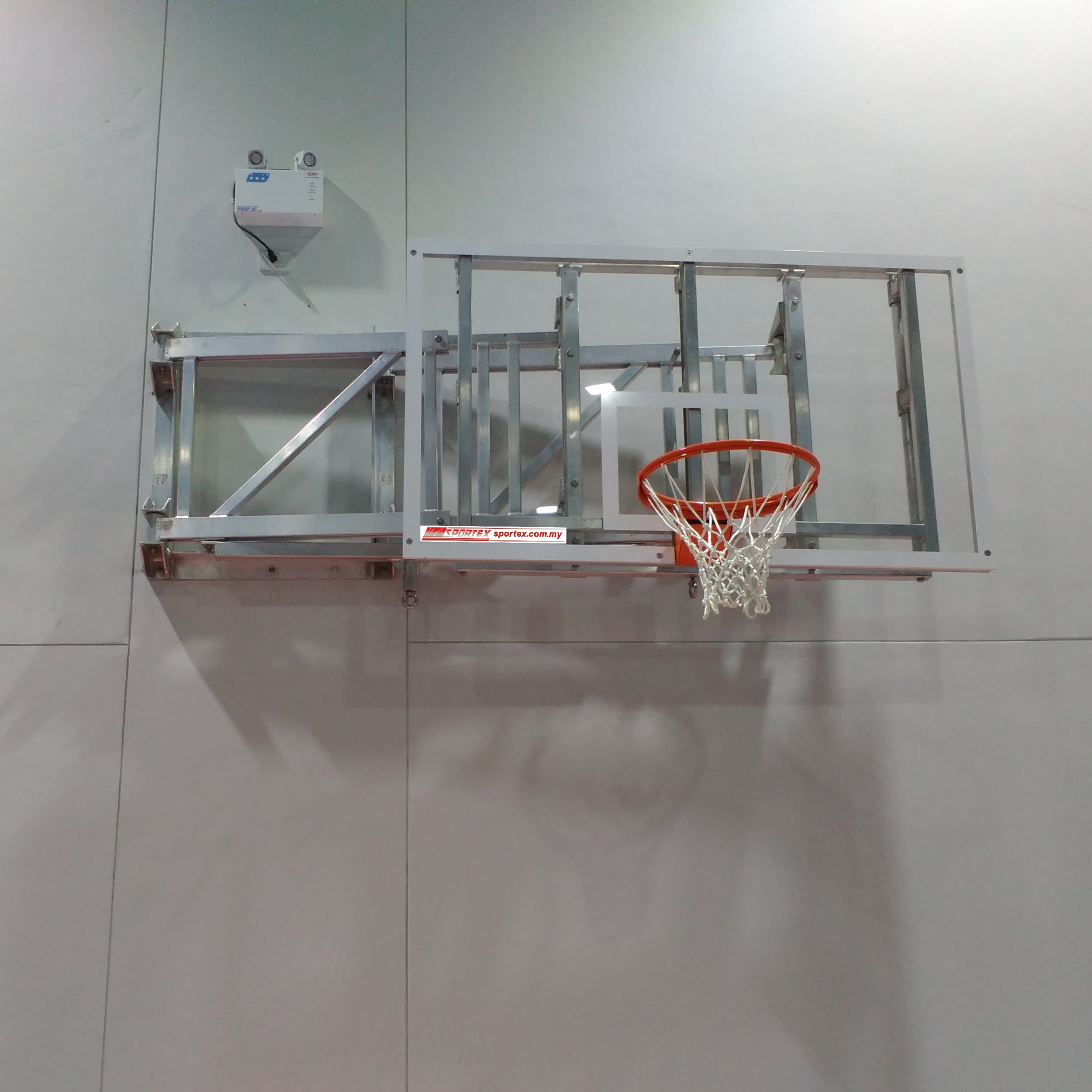 Basketball Wall Mounted FOLDABLE VERSION (Acrylic)