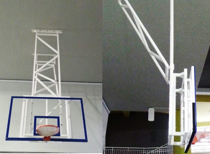 Fixed Basketball Ceiling Mounted