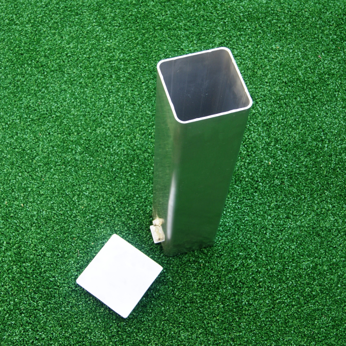 Standard Ground Socket - Tennis Post 80 x 80mm