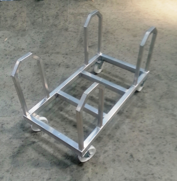 Transport Cart for Indoor Hockey Barrier
