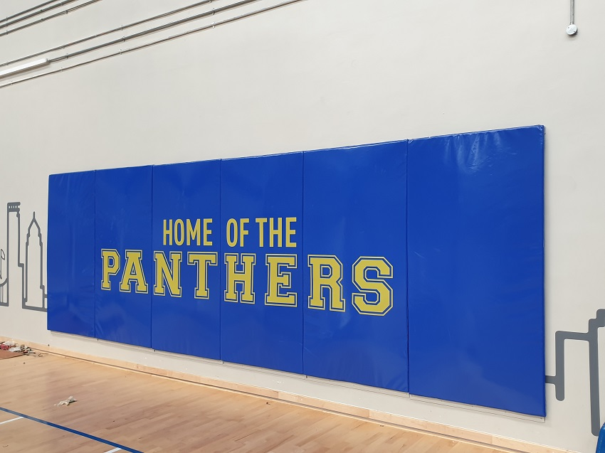 Wall Padding with Logo