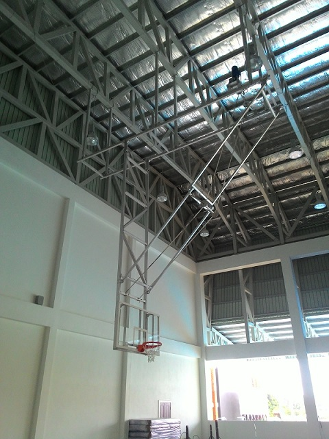 Electric Basketball Ceiling Mounted