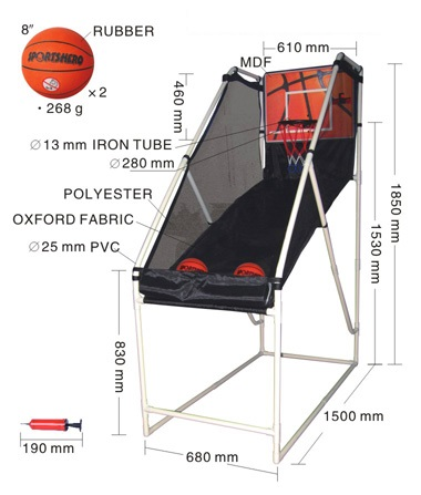 Basketball Shot Arcade System