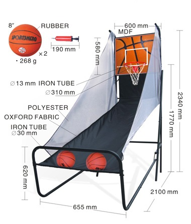 Basketball Shot Arcade System F3