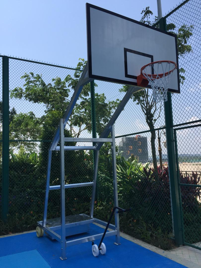 Basketball Mobile System - Outdoor