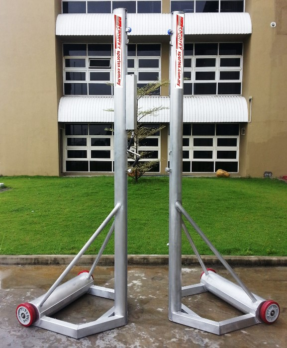 Mobile Volleyball Post (Aluminium Surface)