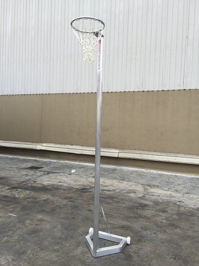 Aluminium Tiang Bola Jaring Malaysia Netball Game Malaysia Sportex